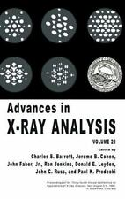 Advances in X-Ray Analysis Vol. 29 (1986, Hardcover)