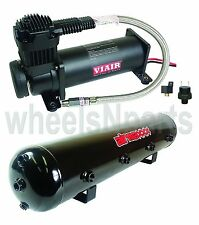 Viair 444 Air Compressor Black 5 Gallon Tank Air RIde Bag Suspension 90/120psi