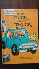 THE DUCK ON THE TRUCK - Kessler Vintage EASY READER Children's Hardcover 1961