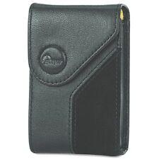LOT of 13 Genuine OEM Lowepro Napoli 20 Black Nappa Leather Compact Camera Cases