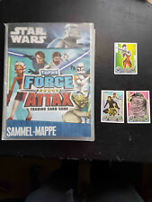 Star Wars Force Attax Serie 1 Album (komplett) mit 2 limitierten Karten