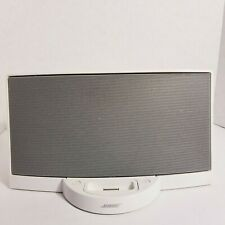 White Bose SoundDock Digital Music System Series I Tested Working BOSE-W22