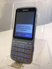 Nokia C3-01 Rm-640 Silver O2 Network Mobile Phone