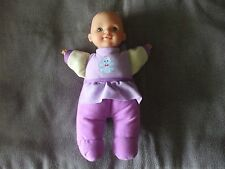 "H.K. City Toys 12"" cloth baby doll with vinyl head and hands"