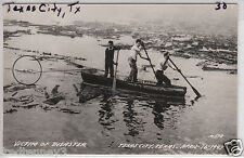 RPPC - Texas City - Searching for Bodies in a Canoe - 1947