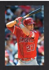 #3 MIKE TROUT, Angels | 2018 Major League Baseball Photo File postcard #073/100