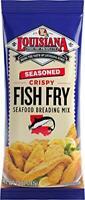 Louisiana Fish Fry, Seasoned Fish Fry (Pack of 4)
