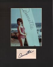 Annette Funicello Signed Autographed Cut Matted 11x14 w/COA 073019DBT2