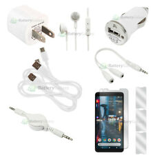 10pc Super Value Phone Accessory Starter Kit for Android Google Pixel 2 XL