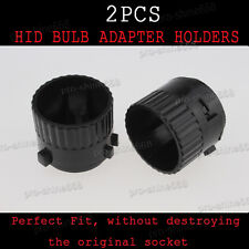 HID Conversion Xenon Bulbs Holders Adapters Adaptor 2PC LED For VW Golf 6 Touran
