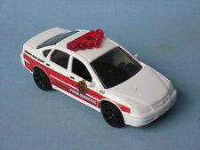 Matchbox chevy impala fire chief rescue corps blanc 70mm jouet voiture bp
