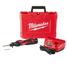 Milwaukee 2488-21 12-Volt Cordless Pivoting Head Soldering Iron Kit