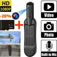 1080P HD Pocket Pen Camera Hidden Mini Body Cam Wireless Video Recorder DVR+32g