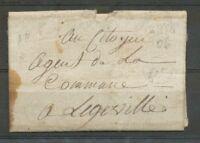 Lettre de Mirecourt du 28 Brumaire AN 6 pour Legeville. Texte ++ VOSGES X3434