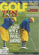 PAYNE STEWART Signed GOLF Magazine with PSA/DNA LOA (NO Label)