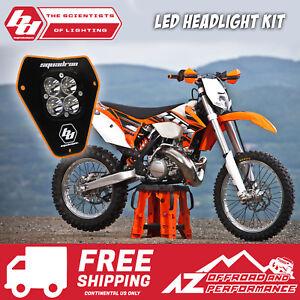 Supermoto Enduro Streetfigher Headlight Head Lamp For KTM Ninja KLX ZX6R Orange
