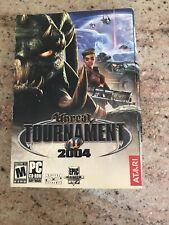 Unreal Tournament 2004 (PC, Atari) Box, Manuals & Discs  w/ Free Shipping