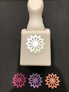 Martha Stewart SUNBURST Punch Craft Sun Flower Medallion Scrapbook Star EK