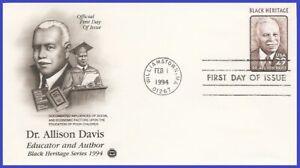 USA3 #2816 U/A PCS ARTCRAFT FDC   Dr. Allison Davis Black Heritage