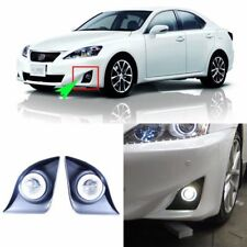 LED Angel Eyes DRL+HID Lamp Projector Lens Foglights For Lexus IS250 2011-2012