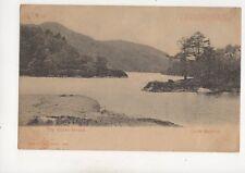 The Silver Strand Loch Katrine 1904 Hold To Light Postcard 338b