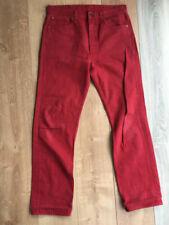 Jeans rouge Levi's 501 pour homme