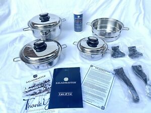 New Saladmaster 316Ti Newest Model Personal Set Waterless Cookware Stainless