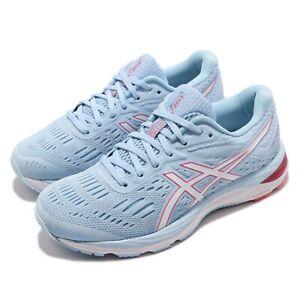 Asics Gel-Cumulus 20 Wide Blue White Women Cushion Running Shoes 1012A006-402