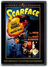Scarface DVD New Paul Muni George Raft Boris Karloff 1932