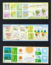 JAPAN 2017 Greeting Celebration Designs S/S x 3 stamps