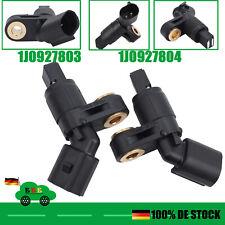 2x ABS Sensoren VORNE LINKS+RECHTS Für VW PASSAT Lupo Skoda 1J0927803 1J0927804
