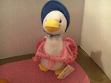 NWT Beatrix  Potter Jemima Puddle Duck Stuffed Plush