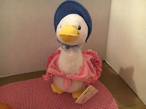 NWT Beatrix  Potter Jemima Puddle Duck Stuffed Plush