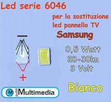 10 Led 6046 retroilluminazione per TV Samsung SPBNNW640S1BSDSNSD
