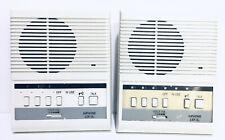 Set of 2 Aiphone Lef-3L Call Audio Intercom Master Stations/ 3 Door Release