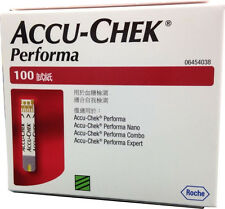 FREE SAME DAY POSTAGE Accu-chek Performa, Nano Test Strips 100 Expiry Sept 2018