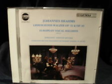 Johannes Brahms-CANZONI D'AMORE-Valzer op.52 & op.65 - European vocal soloists