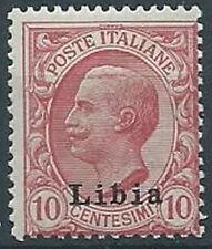 1912-15 LIBIA EFFIGIE 10 CENT MNH ** - RR13789