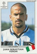 N°011 VERON SS.LAZIO UEFA CHAMPIONS LEAGUE 1999/2000 STICKER FIGURINE PANINI