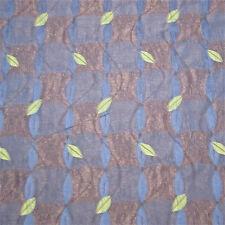 3yd Spectacular Artsy Nuit d'été Luminous Embroidery Textured Upholstery Fabric