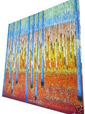"47"" x 47"" by jane crawford bush scrub painting original Australia landscape"
