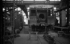 1950s Markham? Shops  Illinois Central #9818 ORIGINAL PHOTO NEGATIVE-Railroad
