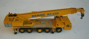 Vintage W Germany Conrad Demag AC 435 Mobile Crane No 2081 1:50 Scale Die-cast