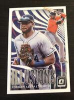Yordan Alvarez 2020 Donruss Optic Illusions #OI-6  Houston Astros