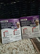 2 boxes of Power Band Plus II Flea & Tick Collar For dogs and Puppies