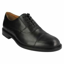 Clarks Huckley Spring Black Leather 7.5 UK G / 41.5 EU