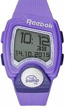 Reebok Pump Sport Digital Watch Purple Silicone RC-PLI-G9-PUPU-WP rrp £89.99