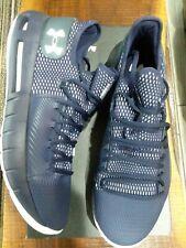 New Under Armour UA HOVR Havoc Low US Size 13 Men's Shoes NAVY Bleu Marine $105