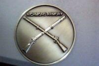 Richmond Armory Civil War Bronze Confederate Commemorative Collectable Token