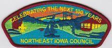 Csp- Northeast Iowa Council  S-16- 100th Aniv -1918-2018